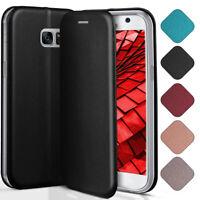 Booklet Etui für Samsung Galaxy S7 Schutz Hülle Handy Tasche 360 Grad Flip Case