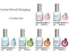 LeChat Perfect Match Mood Changing Gel Nail Polish 6 Colors Set (MG19 - MG24)