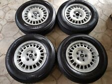 "Volvo GT 14"" alloy wheels set of four 240 242 244 245 260 262 264 265"