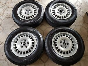 """Volvo GT 14"""" alloy wheels set of four 240 242 244 245 260 262 264 265"""