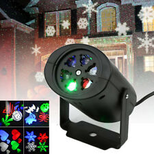 16 Patterns RGB Moving Laser Landscape Projector Party Outdoor Xmas LED Light