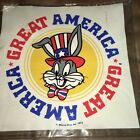 Vintage GREAT AMERICA Vintage Plastic Blow-Up Pillow/Toy (1975) BUGS BUNNY