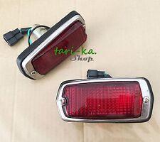 Front Side Marker Lights Red Lens For  DATSUN 510 240Z 260Z 280Z 120Y B210 1200