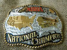 GIST Silversmiths 2008 belt buckle NBHA Dixie National Champlon MADE IN  USA