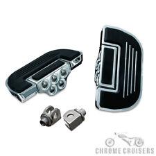 Motorcycle Passenger Premium Floorboards/Footboards Suzuki VL800 VZ800 VL1500..