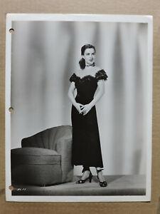 Helena Carter original glamour fashion studio portrait photo 1940's Universal