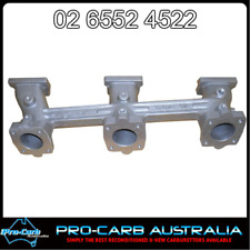 HOLDEN RED 202 TRIPLE SU CARBURETTOR REDLINE MANIFOLD 12-68
