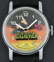 Vintage Bradley Battlestar Galactica wind-up Character Watch