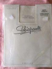 Vintage Schiaparelli 12 denier Wedding pantyhose average Satin Ultra - Sheer