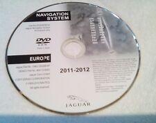 2011-2012 JAGUAR X type S type and XJ UK & Europe sat nav disc ** GENUINE **