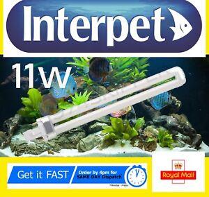 Interpet 11w 2 pin Compatible Light Bulb Aquarium Fish Tank  Lighting 11 watt