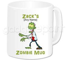 PERSONALISED ZOMBIE MUG LARGE CUP FUN NOVELTY GIFT IDEA HALLOWEEN PRESENT # 1