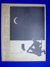 Norn 3 : USA fanzine 1970.  Films +  sci fi comic.