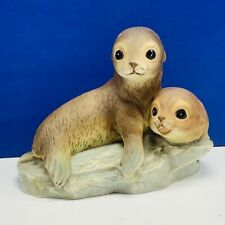 Seal Otter sea lion figurine Homco home interior gift vtg 1981 masterpiece baby