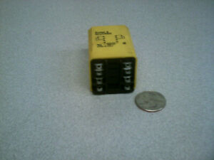 Relay time delay 0.1-10 seconds DPDT Two form C,  P&B CUB-51-70010