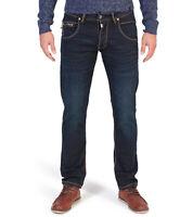 TIMEZONE Regular Harold Jeans klassische Herren 5-Pocket Denim Hose Dunkelblau