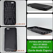 FUNDA SPG SPIGEN SLIM ARMOR NEO HYBRID PARA IPHONE 6 6s Case Cover Negro Negra