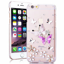 Crystal Iphone 8 Plus Case Cute Diamond 6 Slim For 3D X 5S Clear Bling 7 Glitter