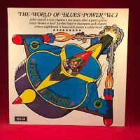 Verschiedenen The World Of Blues Leistung Lautstärke 3 1970 UK Vinyl LP Sehr