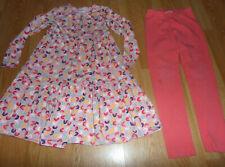 Hanna Andersson PINK RAINBOW TWIRL TWIRLY GIRL Dress 140 10