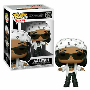 FUNKO POP VINYL ROCKS AALIYAH #209