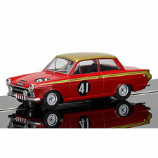 SCALEXTRIC Slot Car C3870 Ford Cortina, Alan Mann Racing