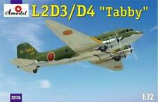 "Amodel 72175 L2D3/D4 ""Taddy"" Japan Transport Aircraft model kit, 1/72 scale"