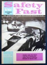 BMC Safety Fast magazine décembre 1967 Vol 9 No 12.