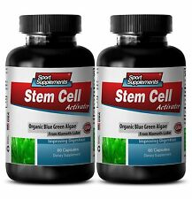 Blue Algae Supplements - Stem Cell Activator 500mg - Repair Damage Cells 2B