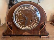 Art Deco Con Incrustaciones Mandle Reloj Guildhall carillón