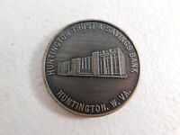 Vtg Advertising Huntington Trust & Savings Bank West VA Bicentennial Token Coin