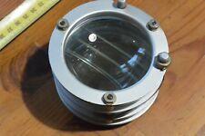 Vintage Large Glass Lens projector CONDENSER  optical block SPOTLIGHT USSR