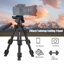 "ZOMEI Q100 20"" Lightweight Travel Camera Tabletop Tripod For Sony Canon SLR C9T2"