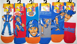 Birthday Party Gift Lazy town Sportacus Character Socks Boys Girls Toddlers BNWT