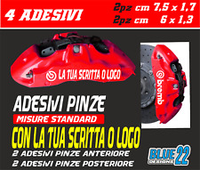 Kit Adesivi Stickers pinze Freno Compatibile PEUGEO 208 308 508 2008 3008 5008 Pinza Freni Decal Auto Macchina cod 010 Bianco 1335