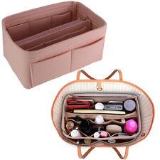 Multi pocket Handbag Organizer Felt Purse Insert Storage Tote Shaper Liner Bag