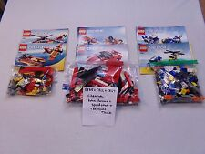 Lego 5765 + 5866 + 5867 - Creator - Rotor Rescue + Speedster + Transport Truck