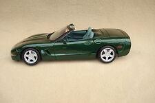 Corvette Modell 1:18  (neu) - Maisto - Cabrio C5 1998 fairway green grün