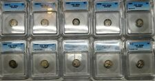 Canada 5C Coin Lot All ICG Original Beauties ***Very Rare Coins (11 coins)