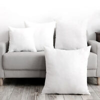 Down Feather Throw Pillow Insert Decorative Throw Pillows Inserts Cotton Cover