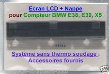 ECRAN LCD complet pour compteur odb BMW E38 E39 X5(Avec Accessoires) En 24/48H !