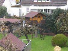Baumhaus, Kinderspielhaus aus Holz mit Balkon, 2,5m x 2,0m x 1,8m
