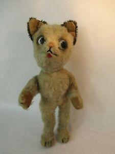 Altes Schuco Bigo Bello Plüschtier als Spielzeug Mohair Katze