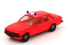 1:87 Opel Rekord E Feuerwehr tagesleuchtrot 2 Warnleuchten - herpa 4054/2