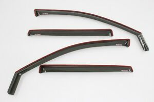 Jeep Liberty 2002-2007 Wind deflectors In-Channel