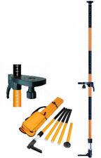Geo-fennel laserslide Pro 3,4 m-perche fixée pour le Rotary, croix & Ligne Lasers