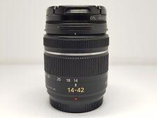 Immaculate Panasonic Lumix G Vario 14-42mm F/3.5-5.6 lens