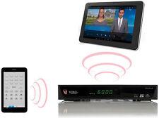 Twin sat Receiver XORO HRS 9190 LAN mit LiveTV‐Streaming Full HD 2 USB HDMI USB