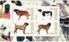Burundi - Dogs - 4 Stamp Sheet - 2J-083