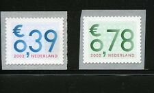 Nederland 2002 zakenpost 2101a-2102a met nummer - Postfris